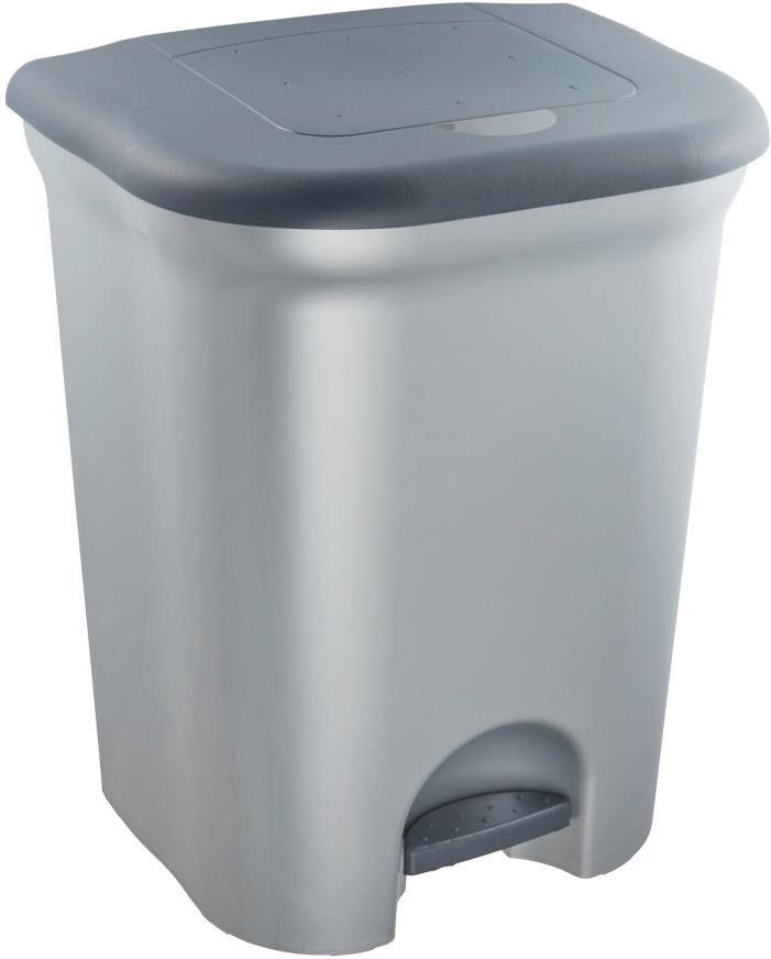 keeeper Tretabfalleimer, mit zwei Kammern, für die perfekte Mülltrennung, »torge«