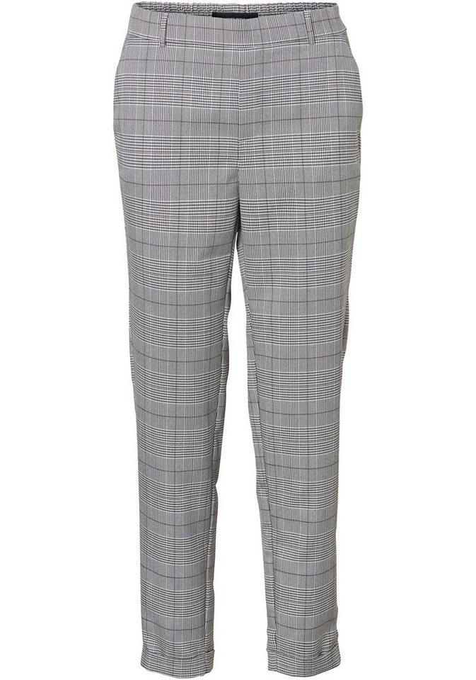 Vero Moda Anzughose »MAYA« im Karo-Look | Bekleidung > Hosen > Anzughosen | Grau | Vero Moda