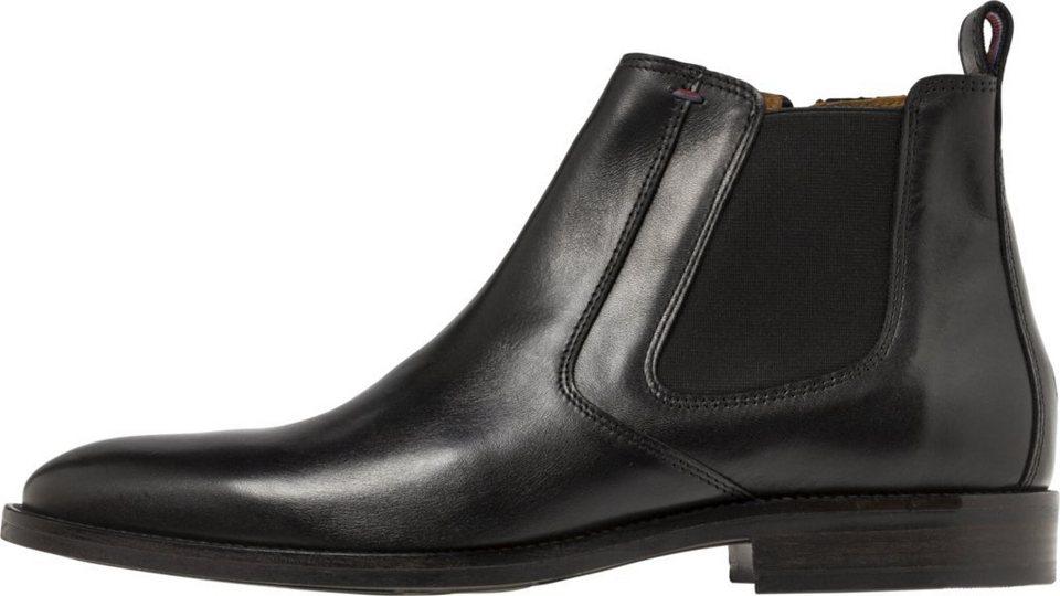 tommy hilfiger boots essential leather chelsea boot. Black Bedroom Furniture Sets. Home Design Ideas