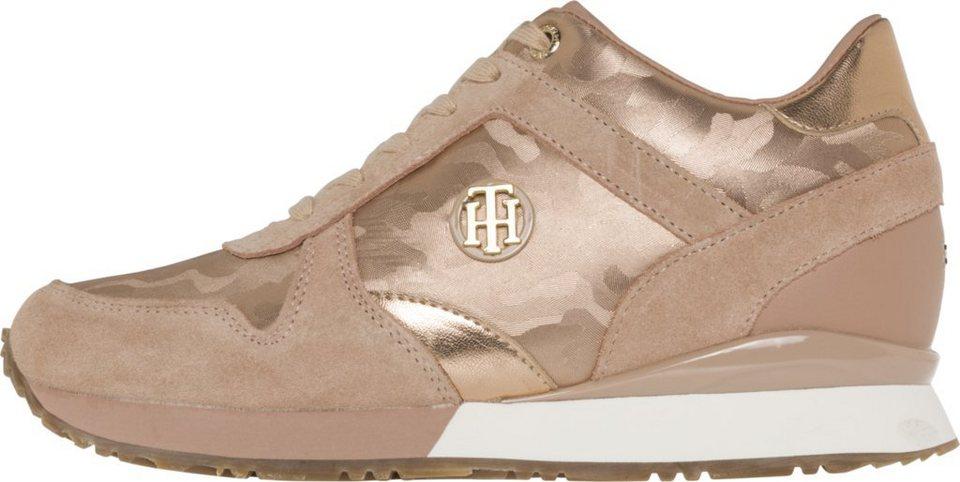 629861a4e Tommy Hilfiger Sneakers »CAMO METALLIC WEDGE SNEAKER« online kaufen ...
