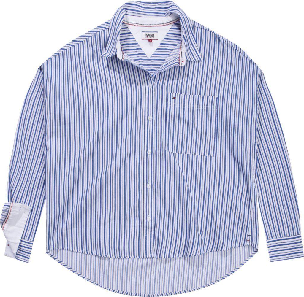 Tommy Jeans Bluse »TJW BOYFRIEND MULTISTRIPE SHIRT«