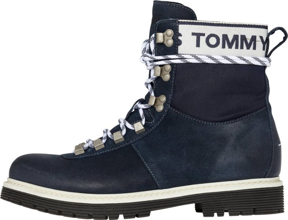 931323aa3c0de5 Tommy Jeans Boots »TOMMY JEANS CANVAS SUEDE BOOT«