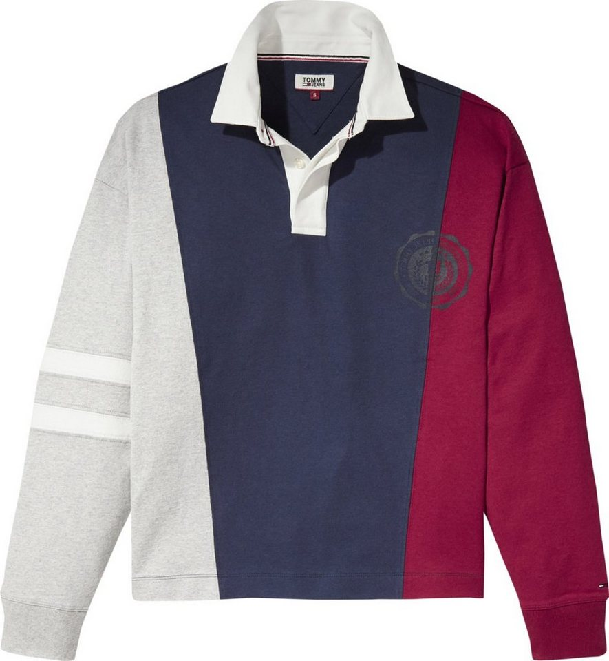 4eb14694 Tommy Jeans Polos »TJW COLORBLOCK COLLEGE POLO«   OTTO