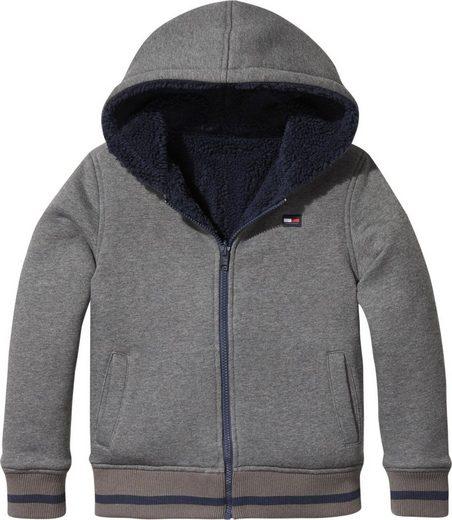 Tommy Hilfiger Sweatshirt »REVERSIBLE BORG HOODED JACKET«