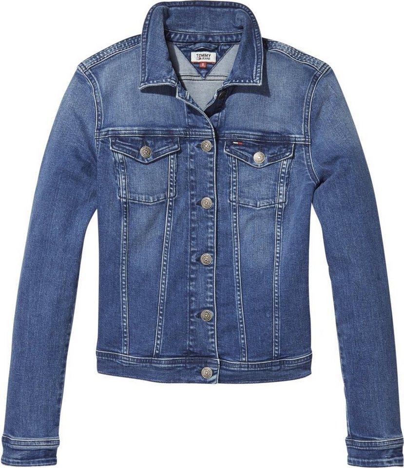 reputable site e86ce d1cdd Tommy Jeans Jacke »TJW SLIM DENIM TRUCKER VIVIANNE« online kaufen | OTTO