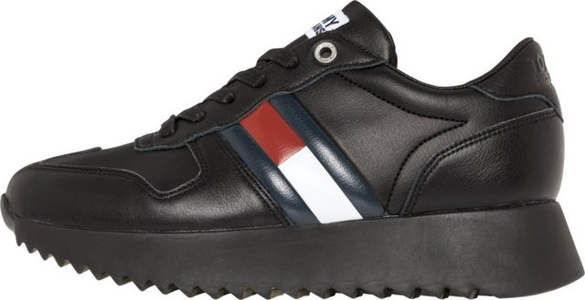 Tommy Jeans Sneakers »HIGH CLEATED SNEAKER« | Schuhe > Sneaker > Sneaker high | Schwarz | TOMMY JEANS