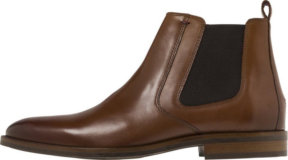 f076e7167a7d Tommy Hilfiger Stiefeletten »ESSENTIAL LEATHER CHELSEA BOOT« online ...