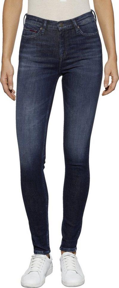 tommy jeans jeans md rise skinny nora 7 8 zp tjcld. Black Bedroom Furniture Sets. Home Design Ideas