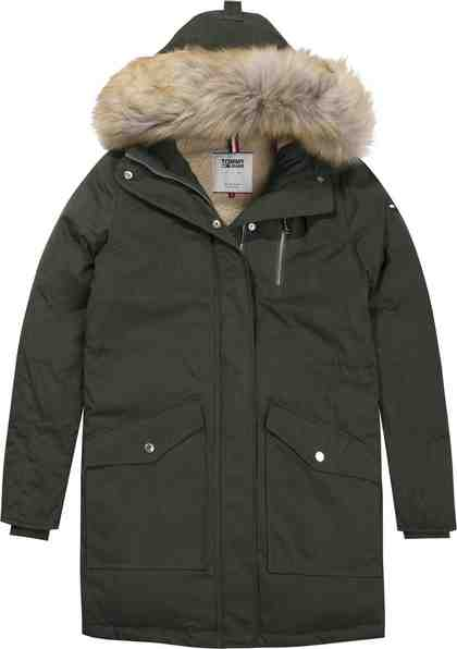 Tommy Jeans Parka »TJW HOODED DOWN SHERPA PARKA«