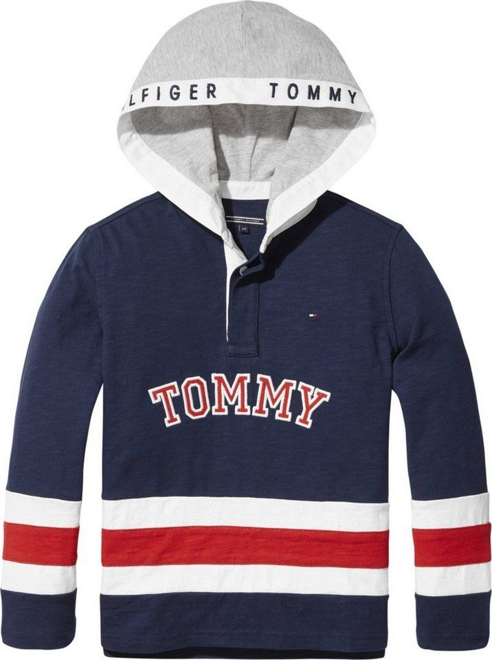 4e3e8ad643d8d2 Tommy Hilfiger Rugbyshirt »CUT AND SEW RUGBY«   OTTO