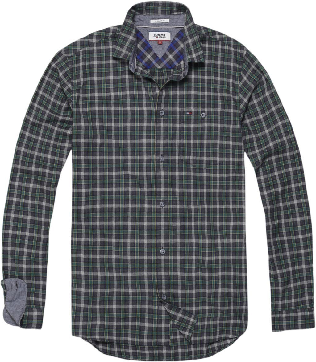 Tommy Jeans Hemd »TJM HEATHER CHECK SHIRT«