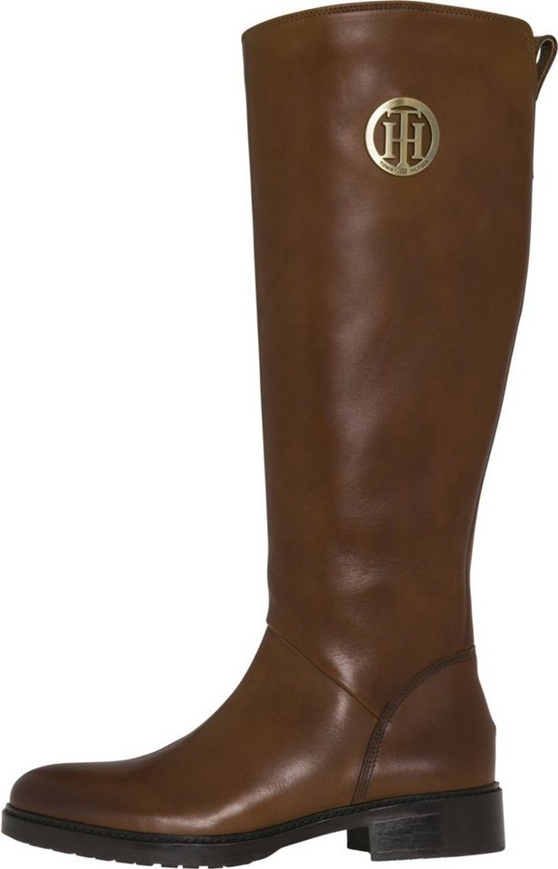 Tropfenverschiffen Original- Modestil von 2019 Tommy Hilfiger Boots »BASIC TH RIDING BOOT LEATHER« online kaufen | OTTO