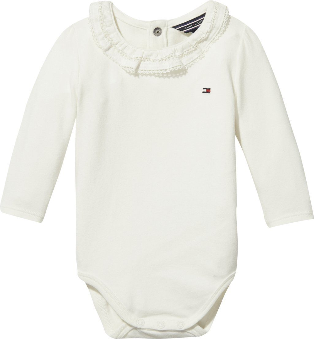 Tommy Hilfiger Body »BABY GIRL LACEY COLLAR BODY L/S«