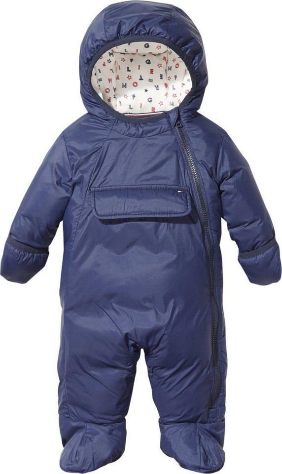 Neue Produkte Mode neueste art Tommy Hilfiger Jacke »BABY SKISUIT«, seitlicher, gleichfarbiger  Reißverschluss online kaufen | OTTO