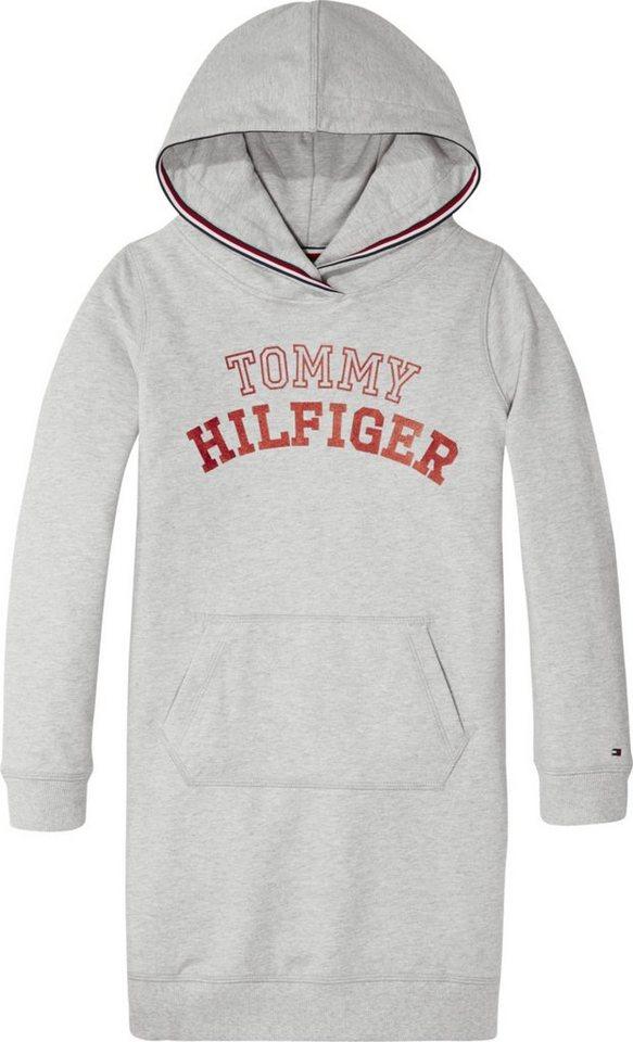 762e39fd7db8ff Tommy Hilfiger Kleid »ESSENTIAL LOGO HOODIE DRESS L/S« online kaufen ...