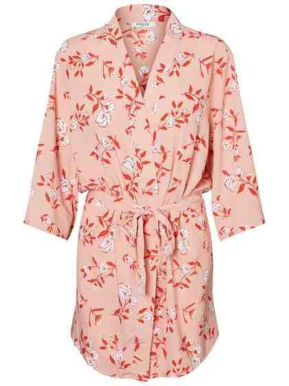 Pieces Print Kimono
