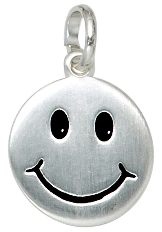 JOBO Kettenanhänger »Gesicht« 925 Silber