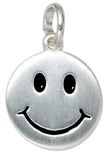 JOBO Kettenanhänger »Gesicht«, 925 Silber