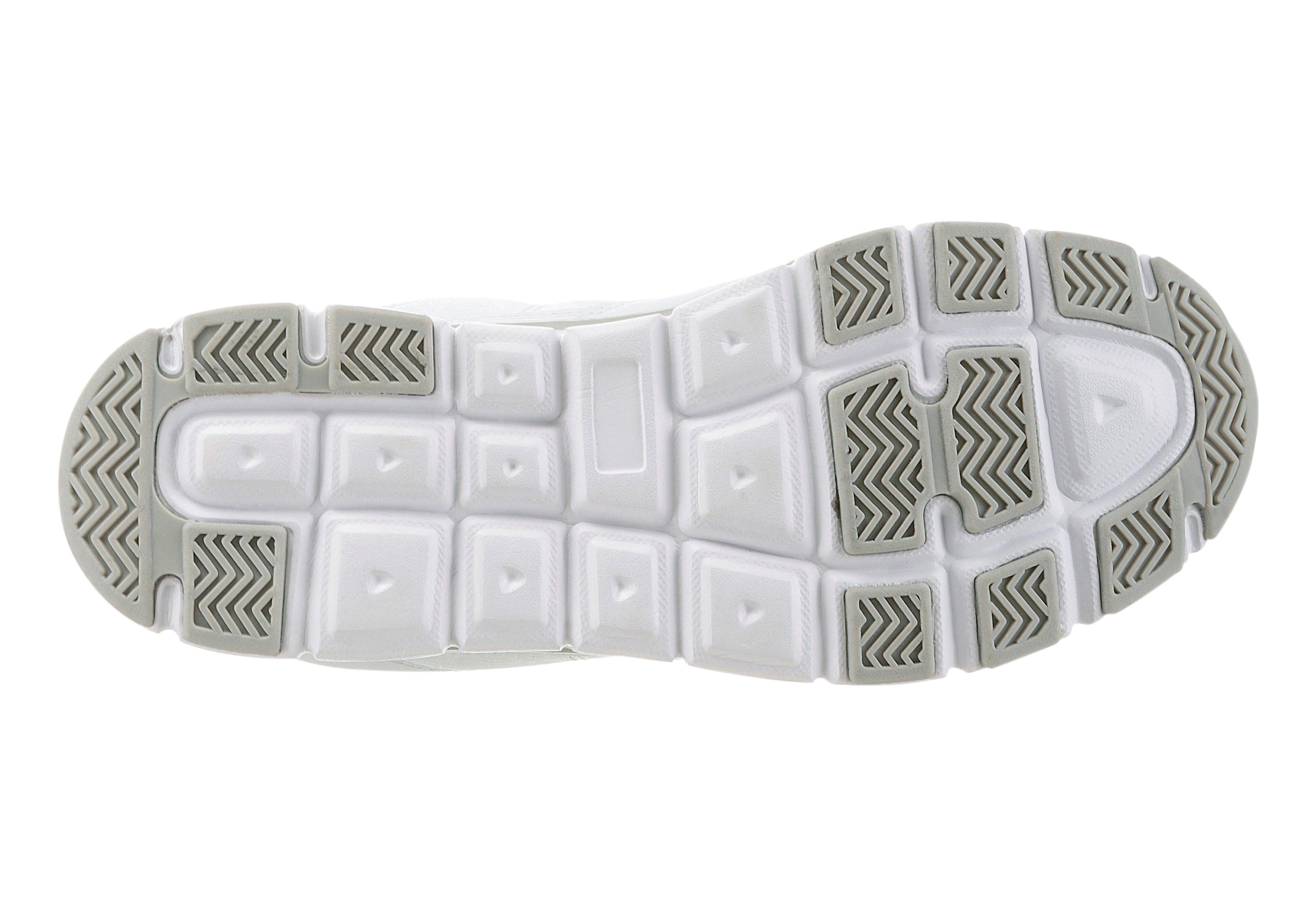 Brütting Klettschuh mit Wechselfußbett kaufen  weiß