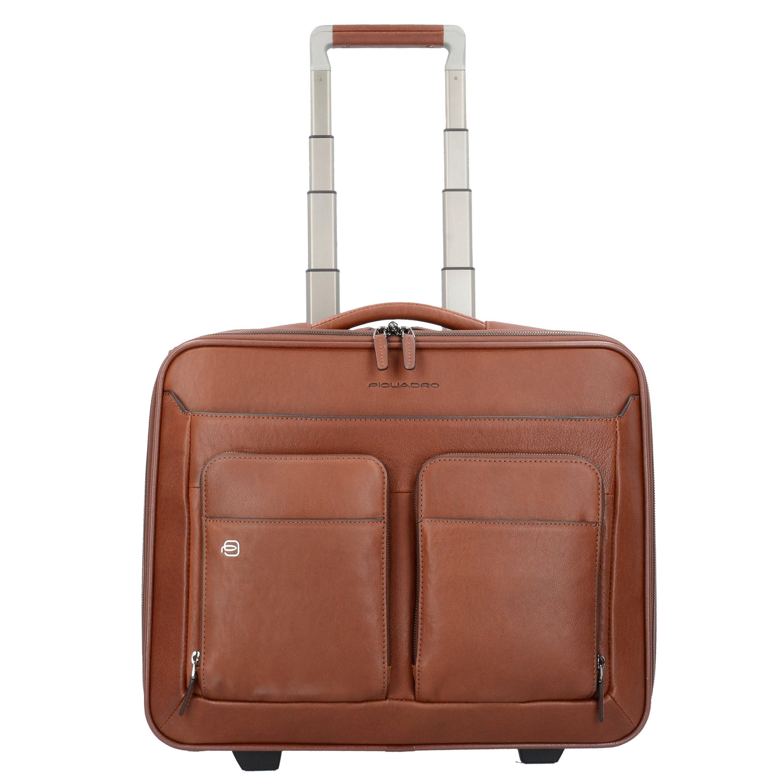Piquadro BagMotic 2-Rollen Businesstrolley Leder 40 cm Laptopfach