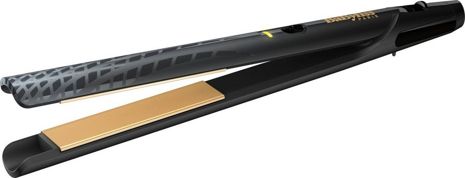 babyliss gl tteisen st410e keramik beschichtung gold. Black Bedroom Furniture Sets. Home Design Ideas