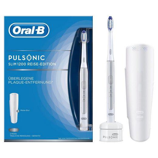 Oral B Schallzahnbürste Pulsonic Slim 1200, Aufsteckbürsten: 1 St.