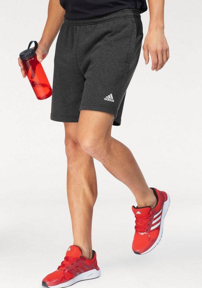 Herren adidas Performance  Shorts MEN SOLID LOGO SHORT FT schwarz | 04059807784398