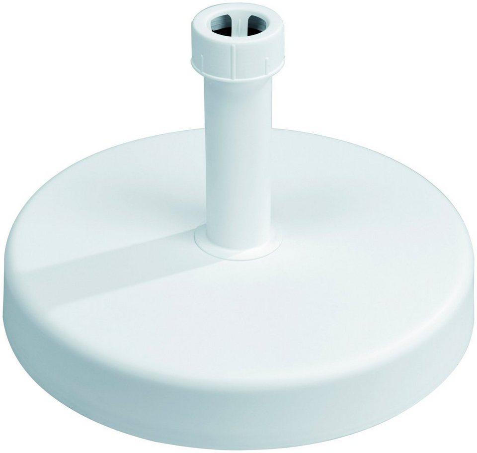 schneider schirme betonschirmst nder f r st cke 30 40 mm pflegeleichte kunststoffhaube. Black Bedroom Furniture Sets. Home Design Ideas