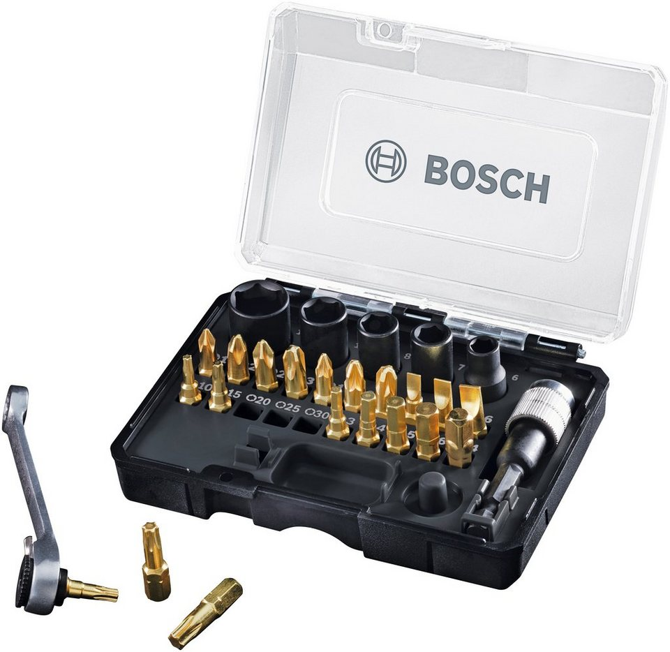 bosch bit set 27 tlg passend f r ixo gold black online kaufen otto. Black Bedroom Furniture Sets. Home Design Ideas