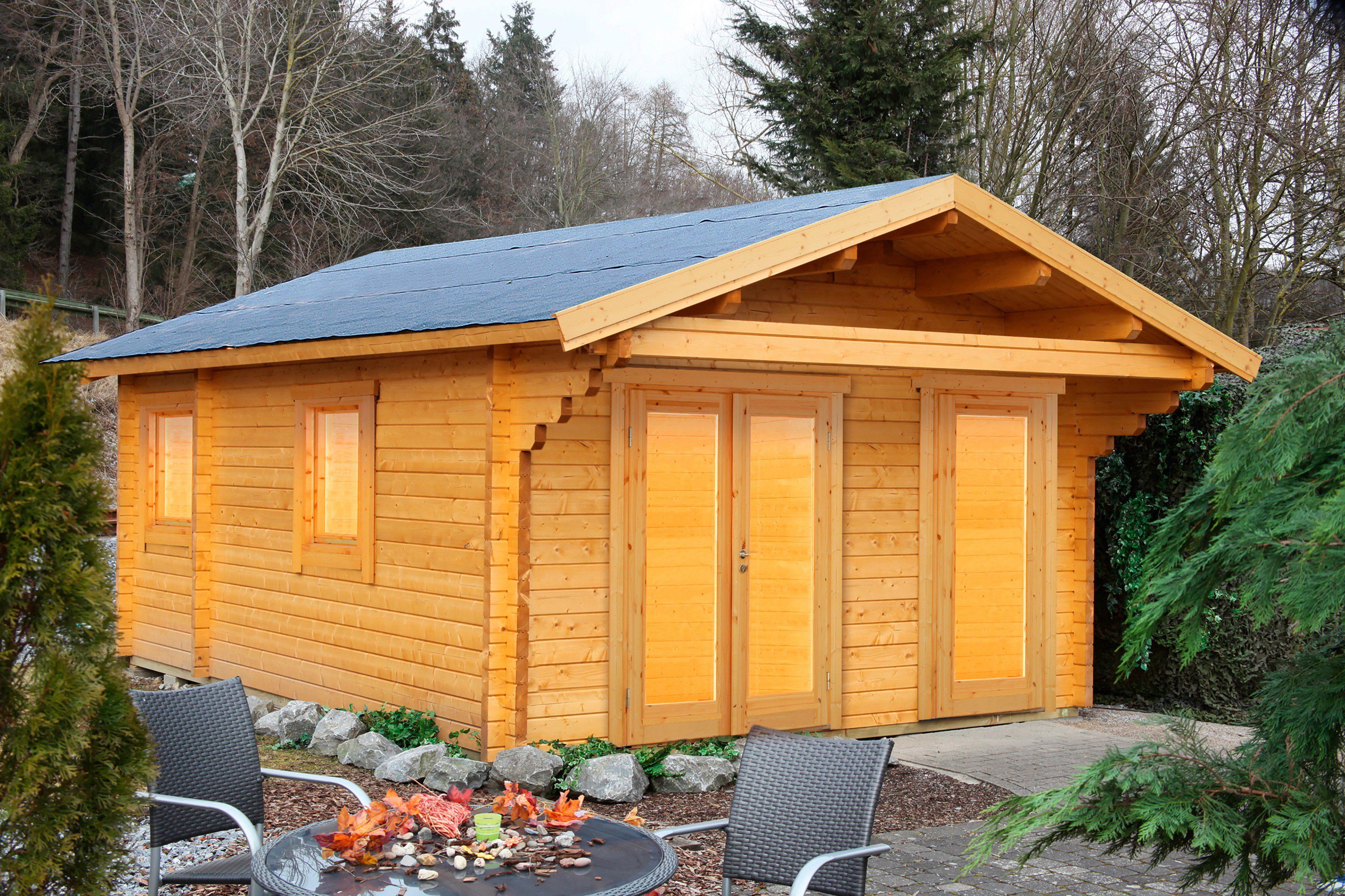 Fußboden Gartenhaus ~ Wolff set gartenhaus göteborg c modern« bxt cm