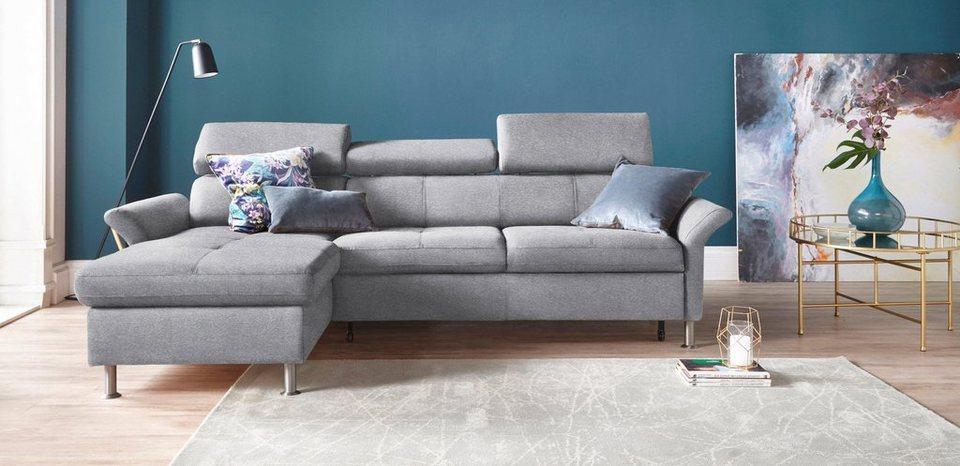 exxpo sofa fashion polsterecke wahlweise mit bettfunktion online kaufen otto. Black Bedroom Furniture Sets. Home Design Ideas