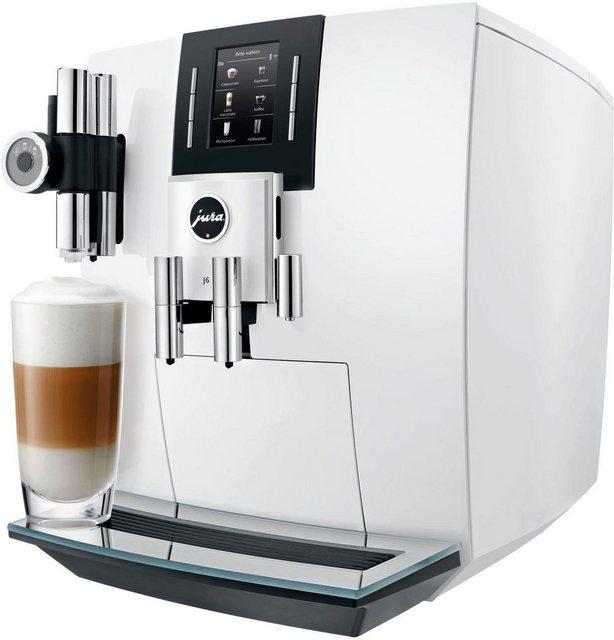 JURA Kaffeevollautomat 15165 J6 Piano White | Küche und Esszimmer > Kaffee und Tee > Kaffeevollautomaten | Jura