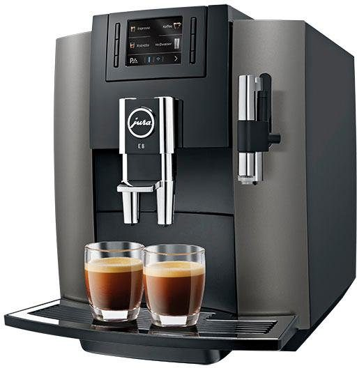 Jura Kaffeevollautomat 15157 E8 Dark Inox