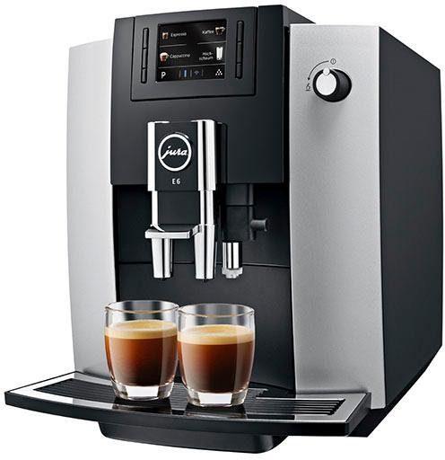 JURA Kaffeevollautomat 15058 E6 Platin