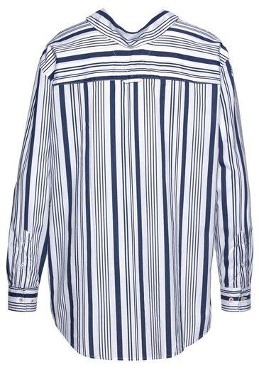 Streifenmix Coolem Im Hemdbluse Jeans Tommy zxwaII