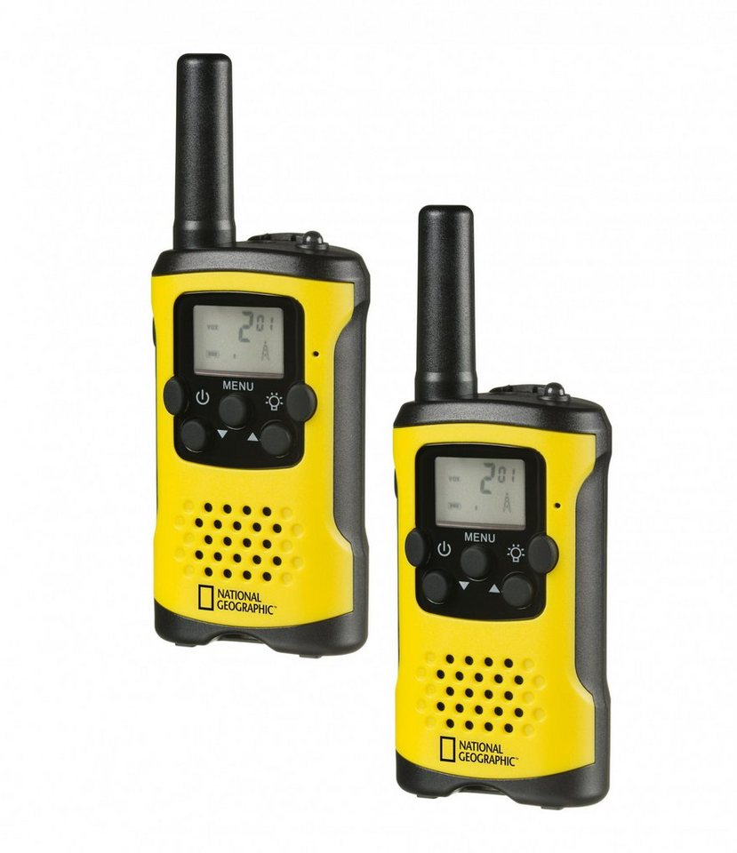 national geographic walkie talkie funkger t pmr 2er set. Black Bedroom Furniture Sets. Home Design Ideas