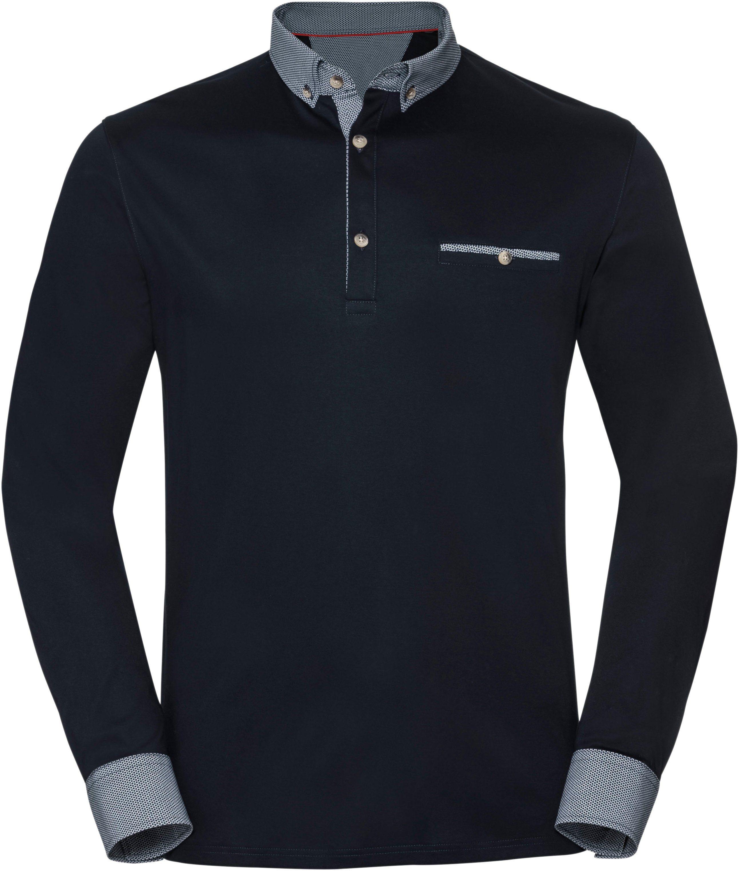 Aus Online Marco Langarm Kaufen Reiner shirt BaumwolleButton kragen Donati down OXiuwklZTP