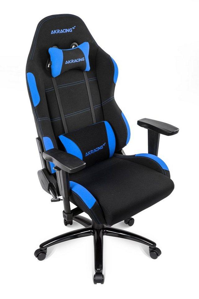 AKRACING Gaming Stuhl Core EX WIDE schwarz blau