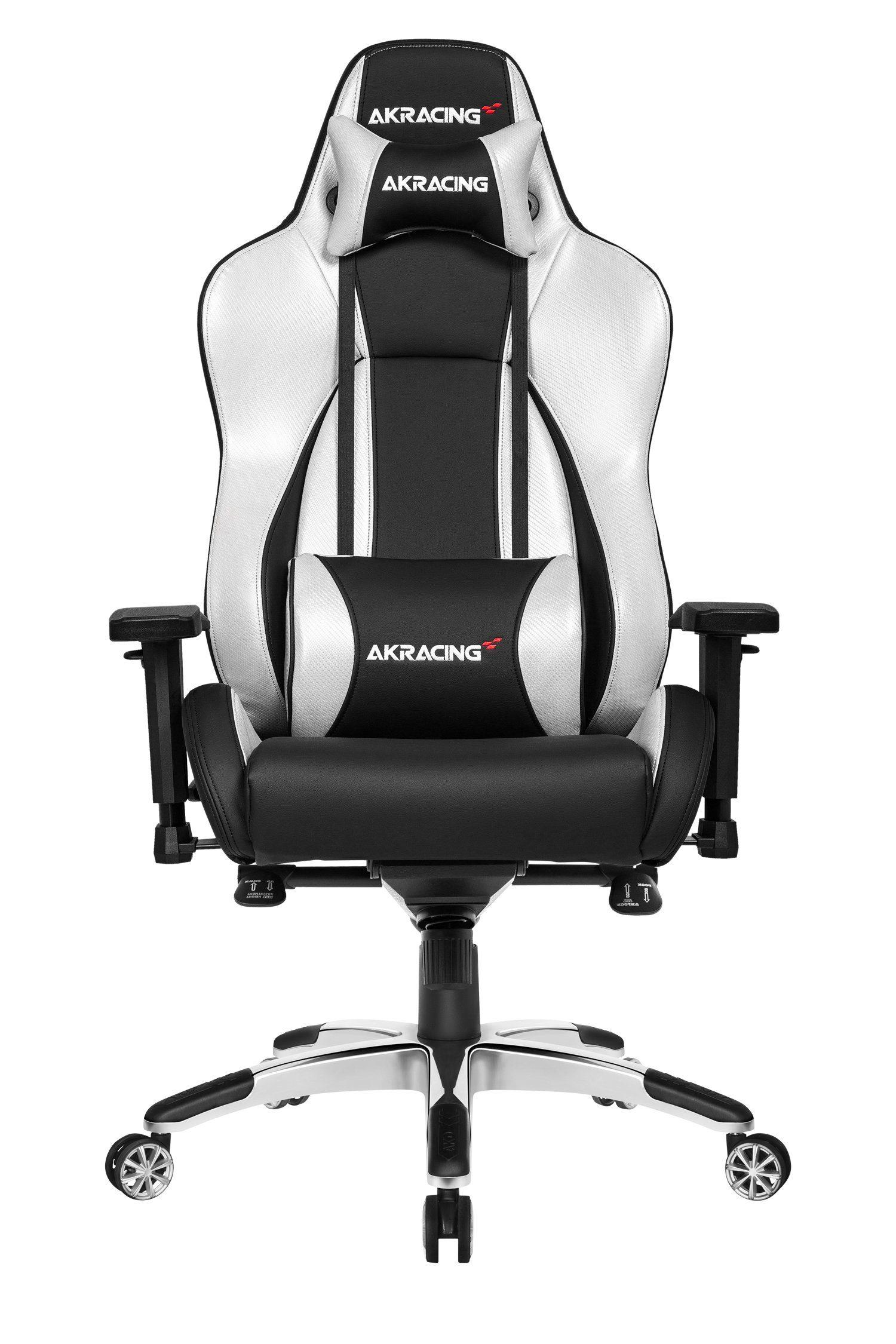AKRACING Gaming Stuhl Master Premium »silber«