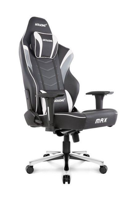Bürostühle - AKRACING Gaming Stuhl Master Max »weiß« » schwarz  - Onlineshop OTTO