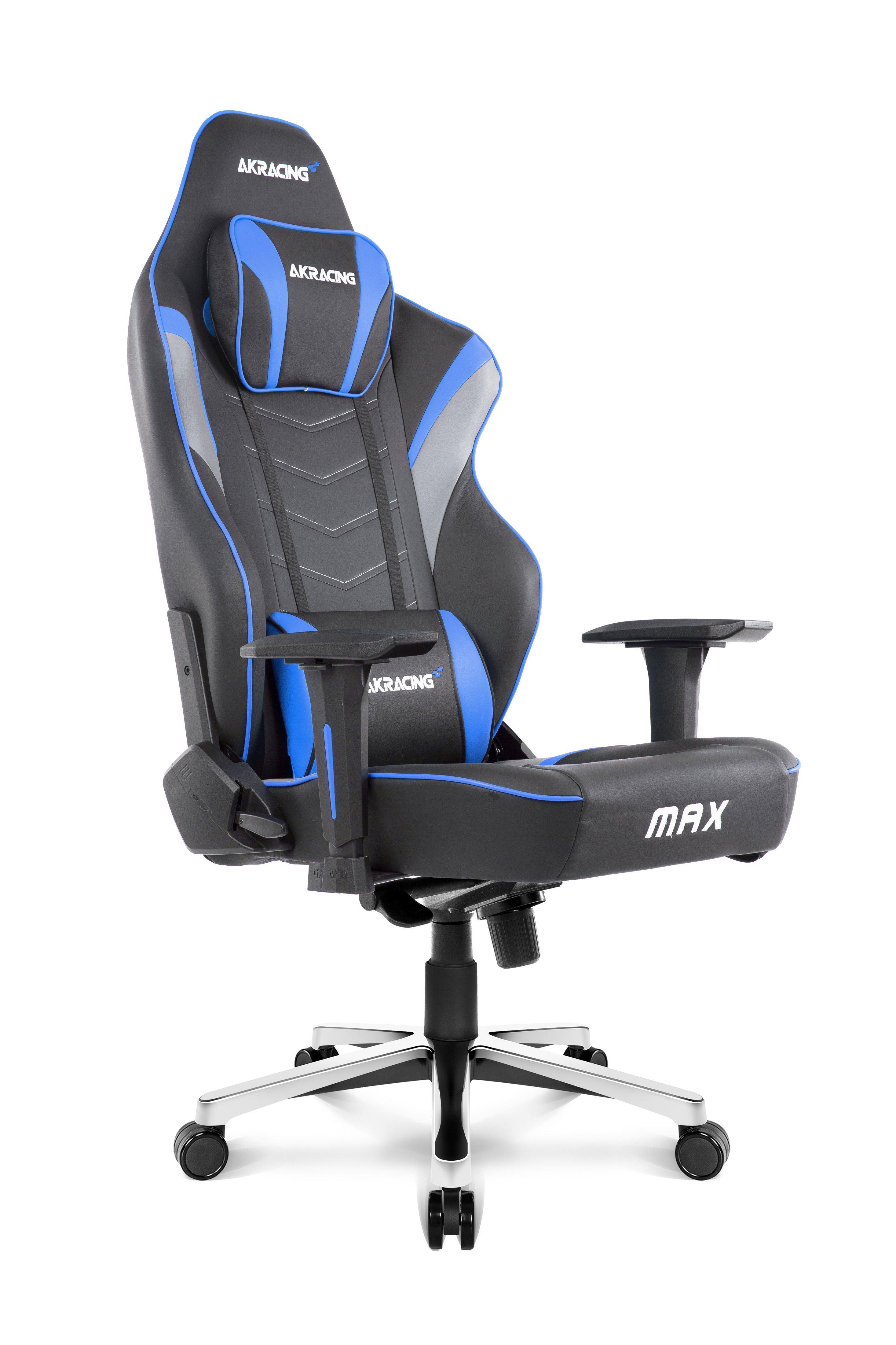 AKRACING Gaming Stuhl Master Max »blau«