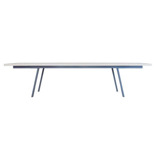 JOHANENLIES Esstisch »Upcycling Tisch VALKENBURG mit Ansteckplatten«, Recyceltes Bauholz. Nachhaltig. Regional. In Handarbeit gefertigt.
