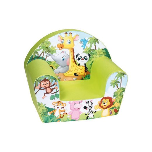 Knorrbaby Mini-Sessel Safari Jungle, grün
