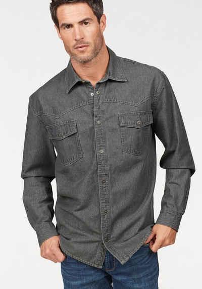 size 40 45a27 bd2ba Günstige Herren Jeanshemden online kaufen | OTTO