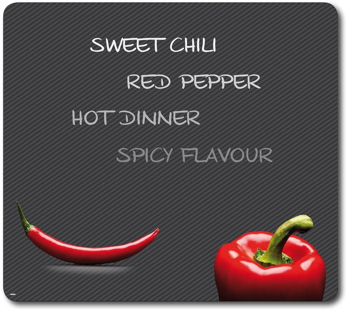 KESPER Multi-Glasschneideplatte, Paprika und Chili