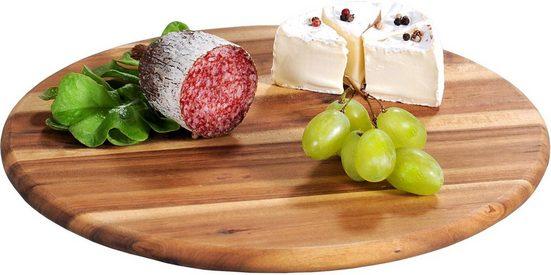 KESPER for kitchen & home Servierbrett, Holz, Ø 30 cm