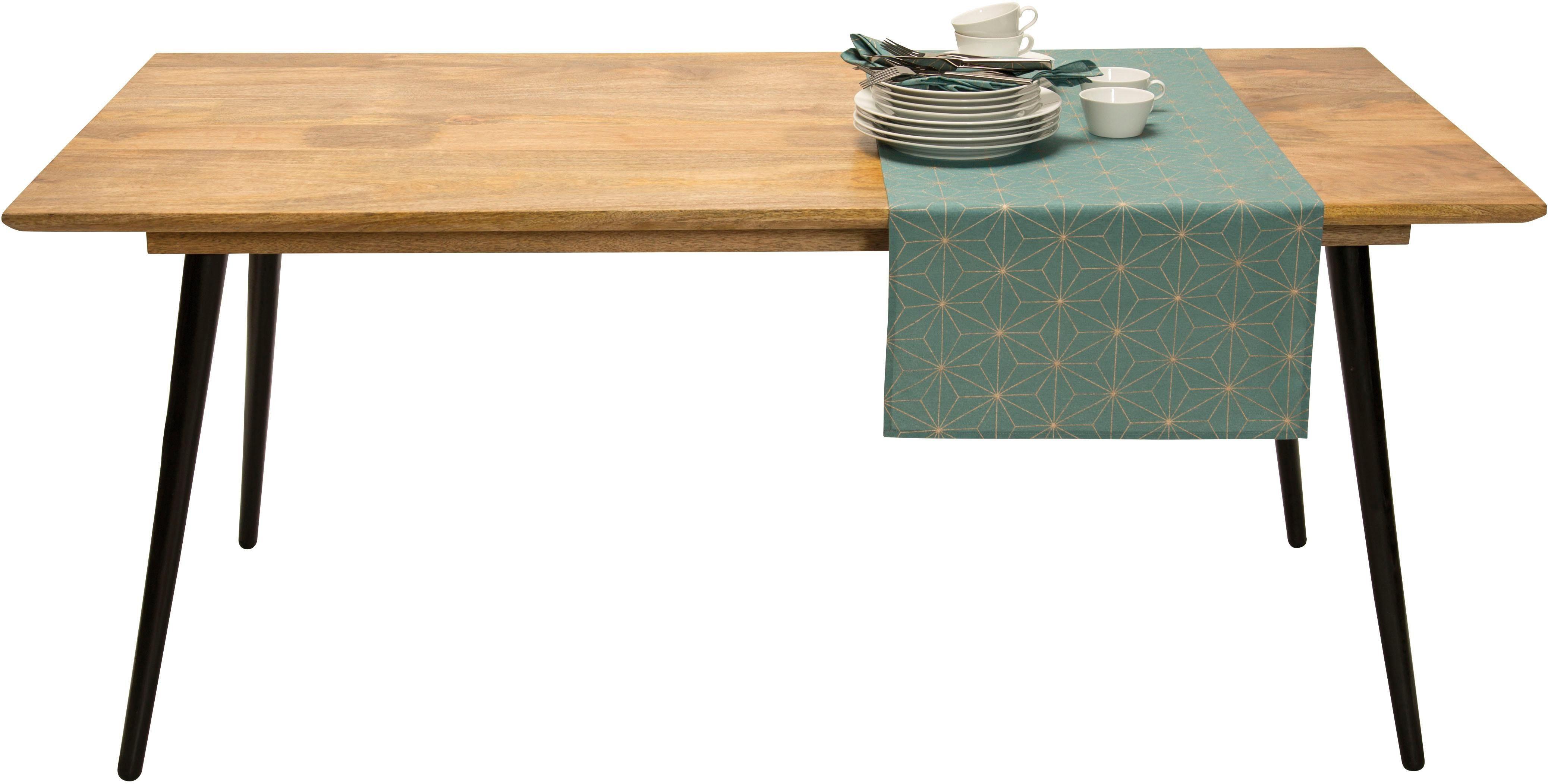 TOM TAILOR Esstisch »T-SOHO TABLE LARGE« aus Mangoholz, Breite 180 cm