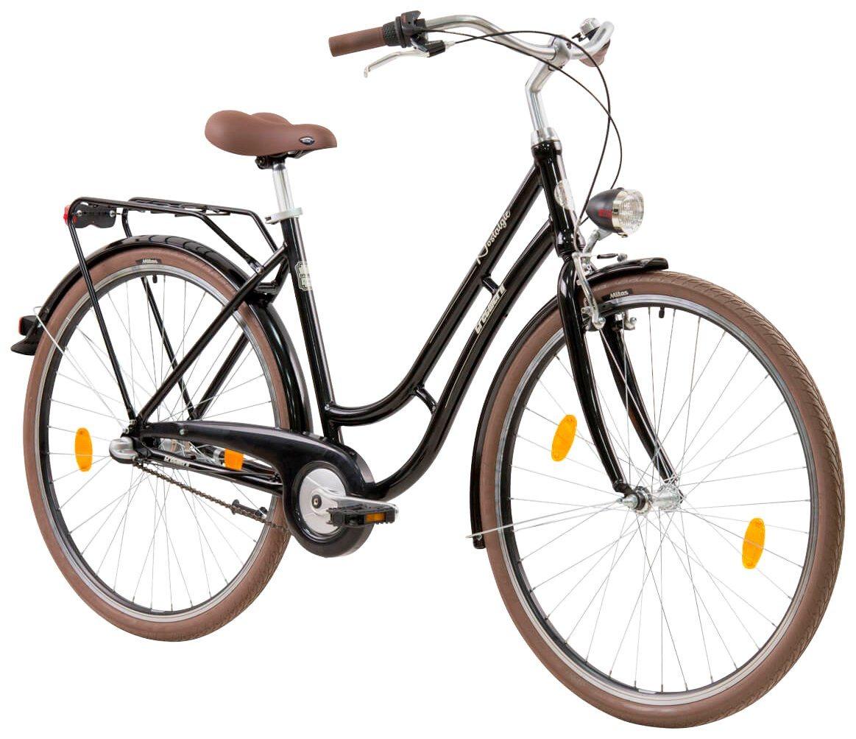 Tretwerk Citybike Damen »Nostalgie Triple«, 26 Zoll, 3 Gang, V-Brake