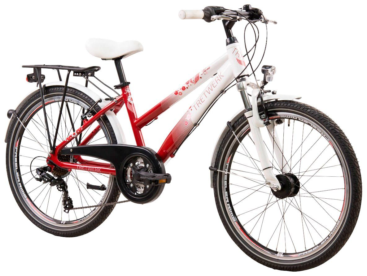 TRETWERK All-Terrain-Bike »Flora«, 24 Zoll, 21 Gang, V-Brake