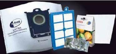 AEG Staubsaugerbeutel s-bag PerformanceKit, passend für AEG, für AEG VX9 ASKVX9
